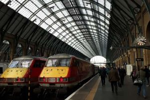 LNER is running extra trains to Edinburgh today from London King's Cross. Picture: The Scotsman