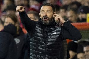 Derek McInnes has been pleased with his Aberdeen players' focus during a challenging period. Picture: Ross Parker/SNS