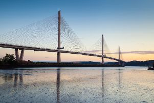 The Queensferry Crossing has improved reliability. Picture: TSPL