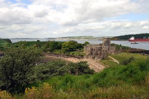 The historic Inchcolm Island in the Firth of Forth is home to black rats, a survey has revealed. Picture: SWNS