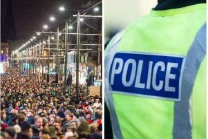 Edinburgh's Hogmanay: Armed police on streets and rooftops as security tightens