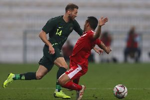 Martin Boyle picked up the injury while playing for Australia against Oman. Pic: Getty