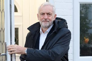 Jeremy Corbyn has come under pressure to back a People's Vote.  (Photo by Leon Neal/Getty Images)