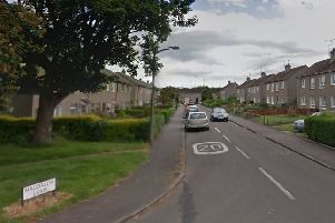 The victim was in a house in Edinburgh's Magdalene Loan at around 9pm on Wednesday when the attack happened. Picture: Google Maps