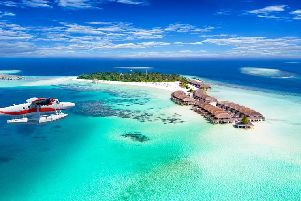 The government of the Maldives is planning to build artificial islands