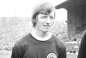 Willie Carr won six caps for Scotland. When he played, the team never lost a match and didn't even concede a goal. Picture: TSPL