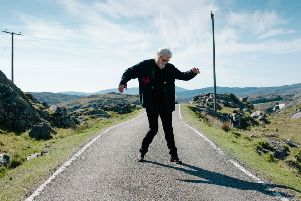 Billy Connolly in Manish, Isle of Harris, in the recent BBC documentary. Picture: 'Jaimie Gramston