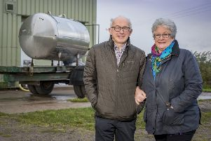 The owners of Connage Callum and Jill Clark.
