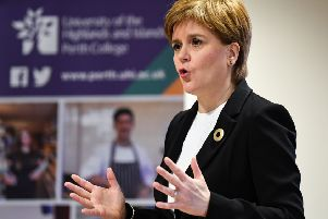 First Minister Nicola Sturgeon. Picture: Jeff J Mitchell - WPA Pool/Getty Images