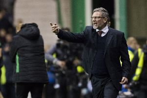 Craig Levein will miss Hearts' Scottish Cup tie against Livingston. Picture: SNS.