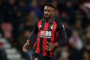 New recruit Jermain Defoe shares former team-mate Steven Gerrard's desire to be 'part of the history of Rangers'.''Picture: PA.