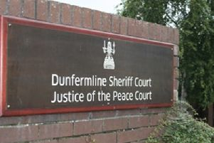 The case was heard at Dunfermline Sheriff Court