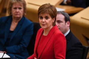 Nicola Sturgeon (Photo by Jeff J Mitchell/Getty Images)