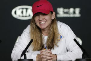 Simona Halep is in a five-match losing streak. Picture: Getty.