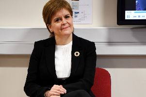 The First Minister isn't accustomed to experiencing this level of hostility from within her own party. Photograph: Jeff J Mitchell/PA