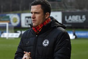 Partick Thistle manager Gary Caldwell. Picture: SNS
