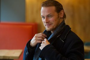 Outlander star Sam Heughan. Picture: John Devlin/The Scotsman