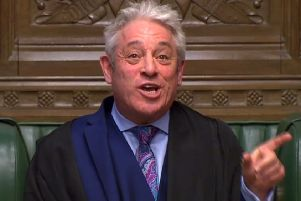 Speaker of the House of Commons John Bercow. (Pic: AFP/Getty Images