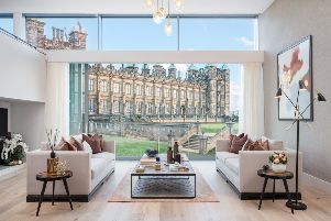 They are the most expensive new homes for sale in Scotland and this weekend buyers can take a first look inside spectacular apartments ' with a price tag approaching �2 million.