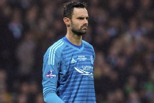 Joe Lewis's career has taken a big turn for the better with his move to Aberdeen. Picture: SNS.