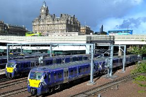"Railway staff at Edinburgh Waverley are going on strike after accusing a contractor of breaking promises about improving their ""lousy"" accommodation. Picture: JP Licence"