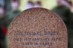 Today marks the 147th anniversary of the death of Greyfriars Bobby. Picture: PA Wire