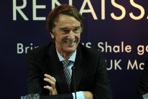 Ineos founder and chairman Sir Jim Ratcliffe said the investment is 'the largest of its kind in Europe for more than a generation'. Picture: Michael Gillen