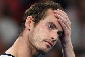 Andy Murray has accused British tennis on failing to make the most of his success. Picture: Saeed Khan/AFP/Getty Images