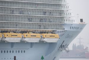 The Oasis of the Seas is returning to port early after an outbreak of norovirus (Picture: Matt Cardy/Getty)