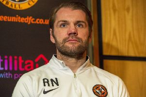 Promotion remains the priority for Robbie Neilson. Picture: SNS.