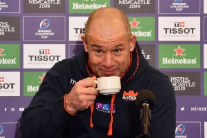 Edinburgh head coach Richard Cockerill. Picture: SNS