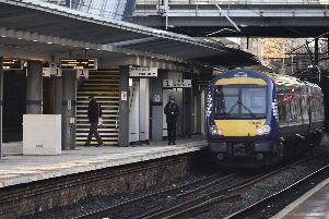 A train fault at Haymarket is causing major disruption to rail services. Picture: Neil Hanna
