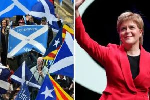 "Nicola Sturgeon has said she intends to ""exercise the mandate"" she has to hold a  referendum on Scottish independence in response to the Brexit turmoil."