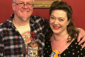 Simon and Debbie Rutherford of Rutherfords Micropub in Kelso
