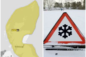 Ice warnings have been issued across the country. Picture: Met Office
