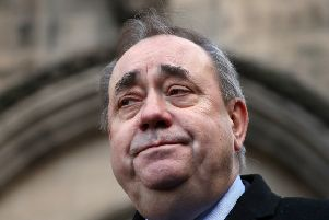 Alex Salmond. Picture: Jane Barlow/PA Wire