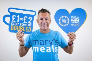 Duncan Bannatyne is backing a Mary's Meals campaign aiming to help hungry children in Zambia which sees every donation doubled. Picture: PA