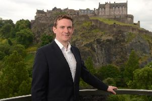 Stuart Lunn, founder and chief executive of the Edinburgh-based fintech. Picture: Contributed