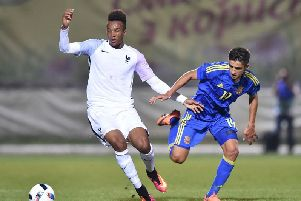Ukraine's Maryan Shved is on the verge of signing for Celtic. Picture: SERGEI SUPINSKY/AFP/Getty