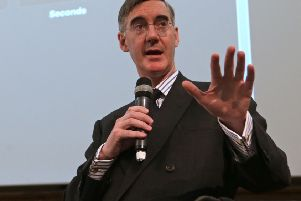 Wealthy and privileged Brexiteers like Jacob Rees-Mogg have appointed themselves tributes of the people (Picture: Daniel Leal-Olivas/AFP/Getty)
