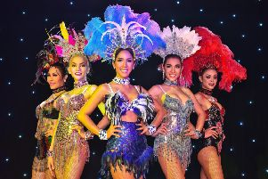 The Ladyboys of Bangkok is a popular Fringe show.
