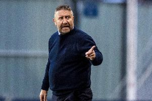 Inverness CT manager John Robertson. Pic: SNS/Sammy Turner