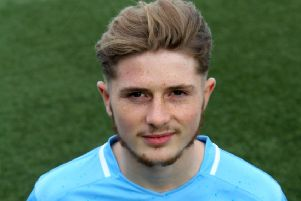 Forfar's Connor Coupe scored the opening goal against Arbroath