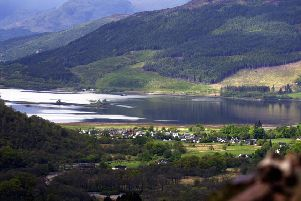 An energy firm has angered villagers with plans to build a hydroelectric power plant next to the site of a 17th century Highland massacre. Picture: SWNS