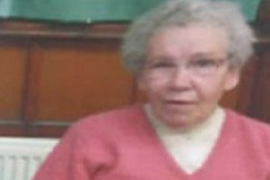 Phyllis Milne, 86, who has been reported missing from the Quarryhill area of Keith, Moray. Picture: Police Scotland/PA Wire