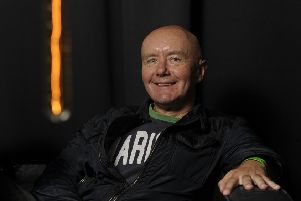 Irvine Welsh is loved by many of those who attended the Jaipur Literature Festival (Picture: Neil Hanna)