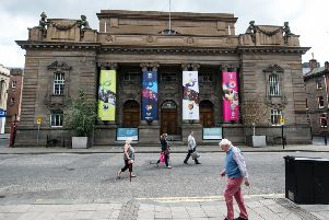 Perth City Hall is to be revamped into an arts venue expected to attract more than 160,000 visitors a year. Picture: John Devlin