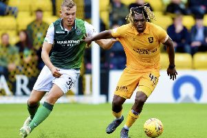 Hibs lost on their last visit to Livingston in September. Picture: SNS