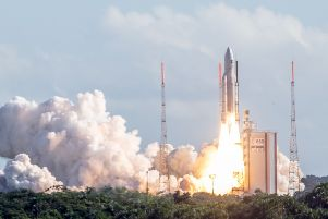 Scotland is hoping to become a major player in the global space sector. Picture: Jody Amiet/AFP/Getty Images
