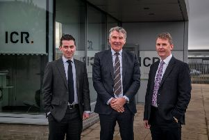 Left to right: Alan McQuade, Bill Bayliss and Richard Wilson of ICR Integrity. Picture: contributed.